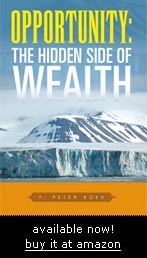 Opportunity: The Hidden Side of Wealth - just published!